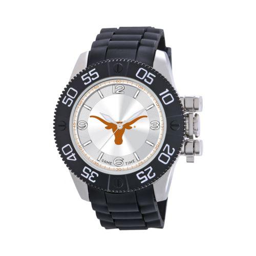 Game Time Beast Series Texas Longhorns Stainless Steel Watch - COL-BEA-TEX - Men