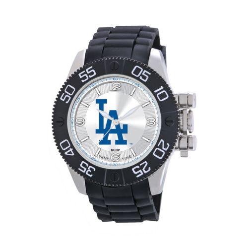 Game Time Beast Series Los Angeles Dodgers Stainless Steel Watch - MLB-BEA-LA - Men