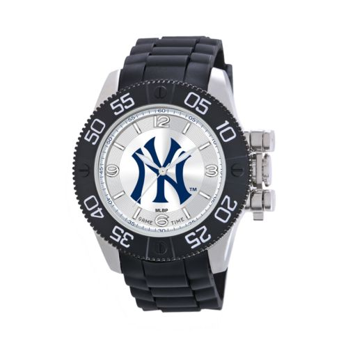 Game Time Beast Series New York Yankees Stainless Steel Watch - MLB-BEA-NY3 - Men