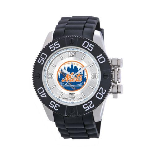 Game Time Beast Series New York Mets Stainless Steel Watch - MLB-BEA-NYM - Men