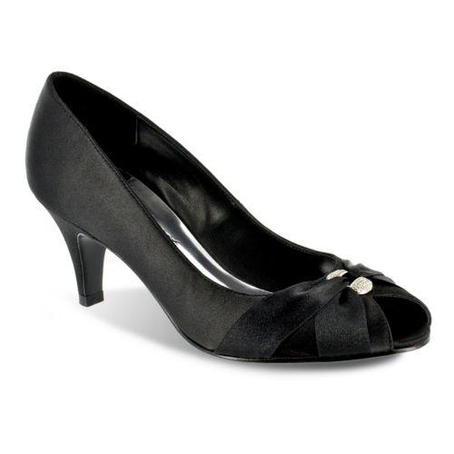 Easy Street Sunset Peep-Toe Dress Heels - Women