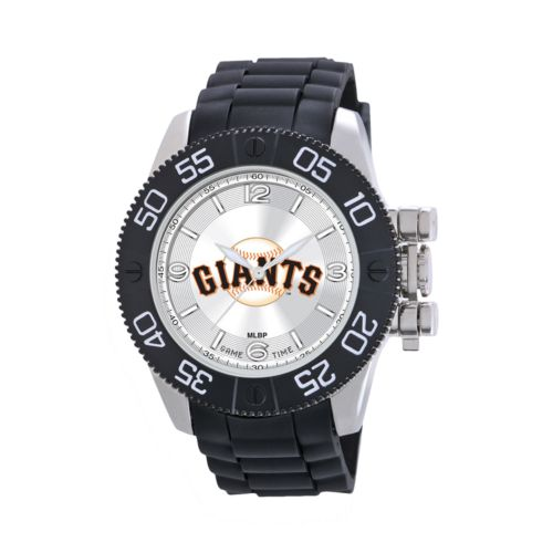 Game Time Beast Series San Francisco Giants Stainless Steel Watch - MLB-BEA-SF - Men
