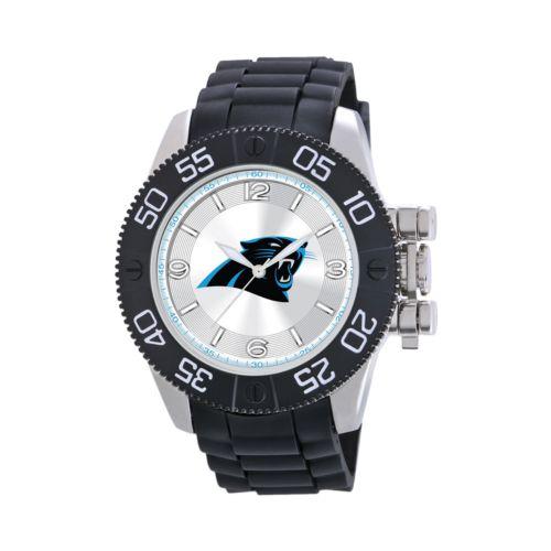 Game Time Beast Series Carolina Panthers Stainless Steel Watch - NFL-BEA-CAR - Men