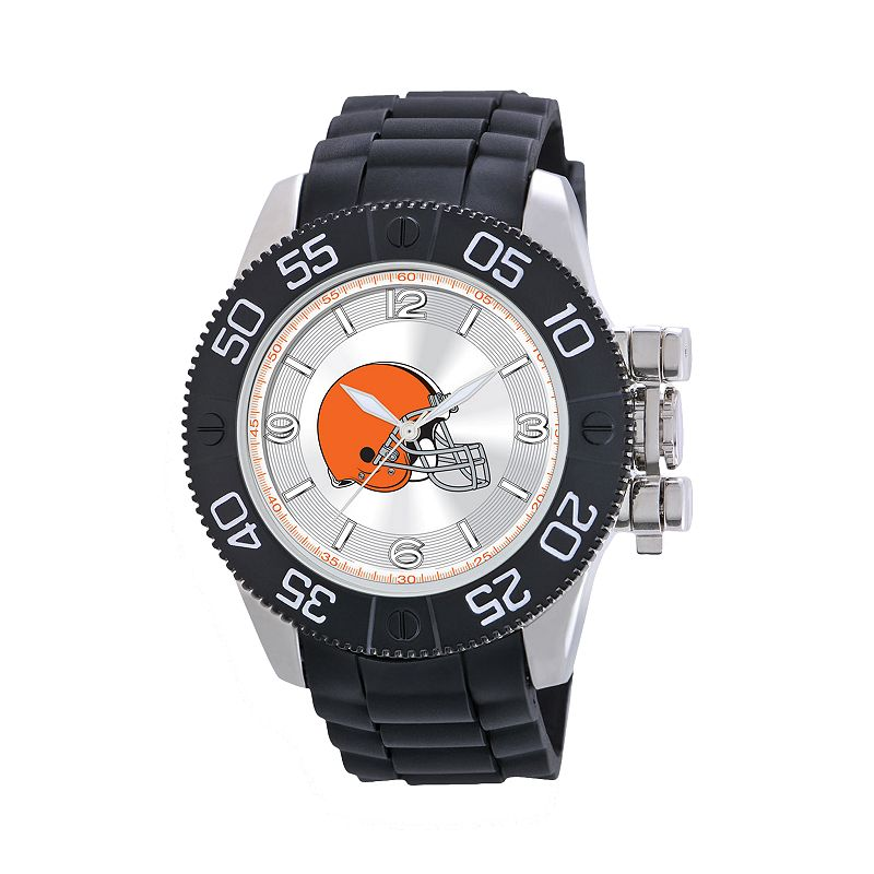 Game Time Beast Series Cleveland Browns Stainless Steel Watch - NFL-BEA-CLE - Men