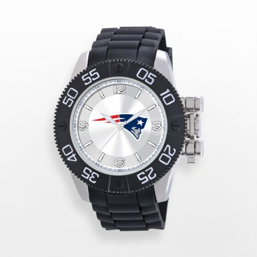 Game Time Beast Series New England Patriots Stainless Steel Watch - NFL-BEA-NE - Men