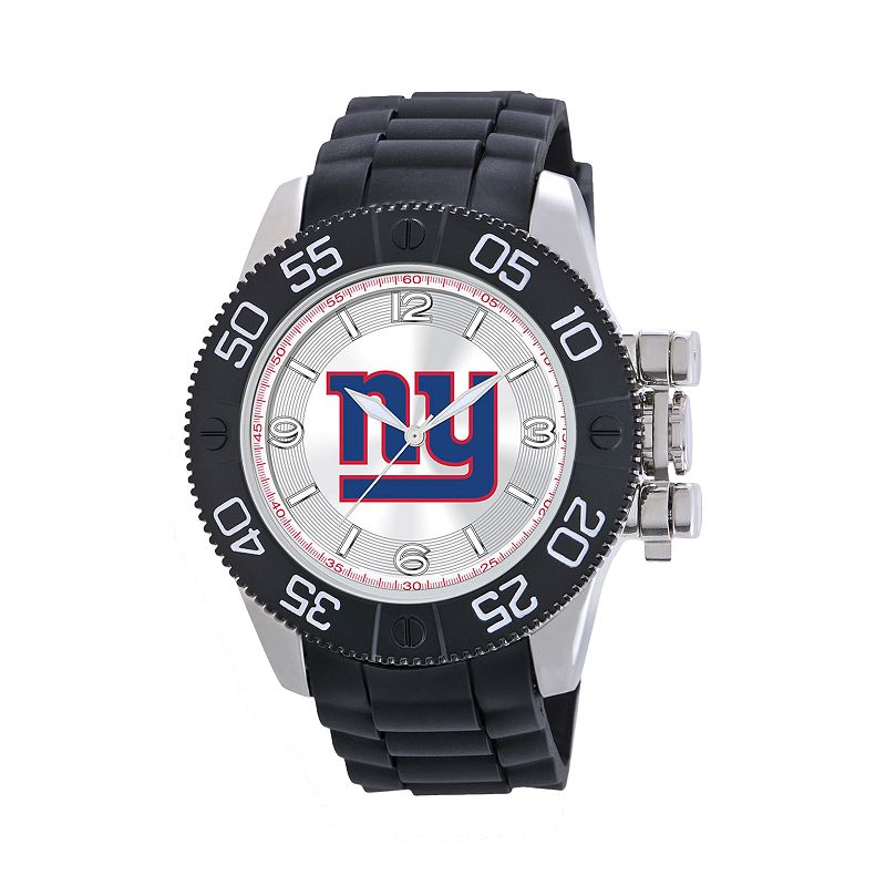 Game Time Beast Series New York Giants Stainless Steel Watch - NFL-BEA-NYG - Men
