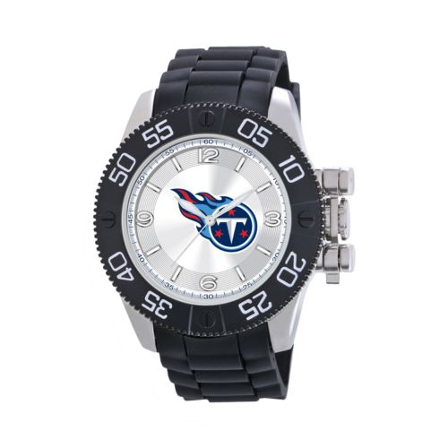 Game Time Beast Series Tennessee Titans Stainless Steel Watch - NFL-BEA-TEN - Men