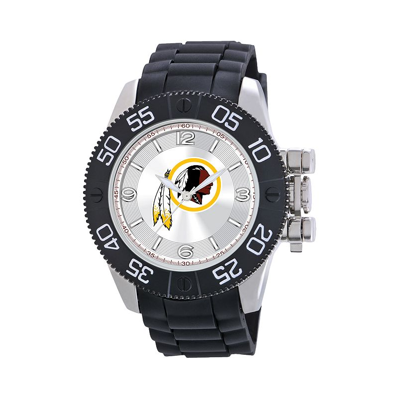 Game Time Beast Series Washington Redskins Stainless Steel Watch - NFL-BEA-WAS - Men