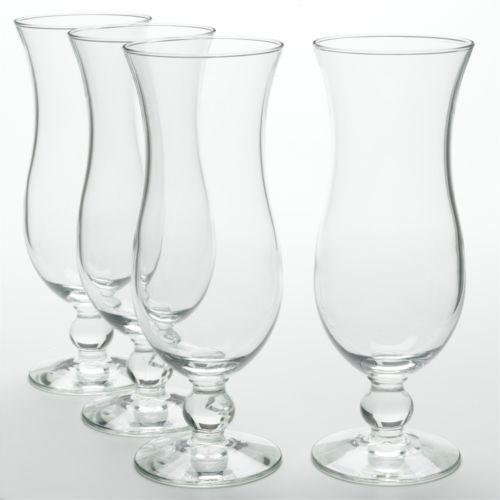 Libbey 4-pc. Hurricane Glass Set