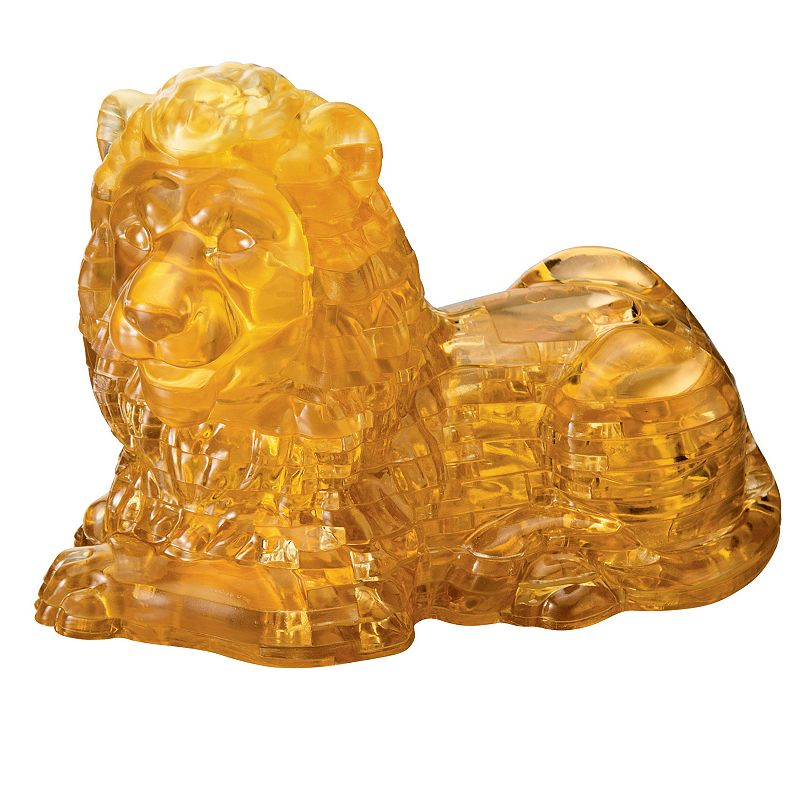 Deluxe 3D Crystal Lion Puzzle