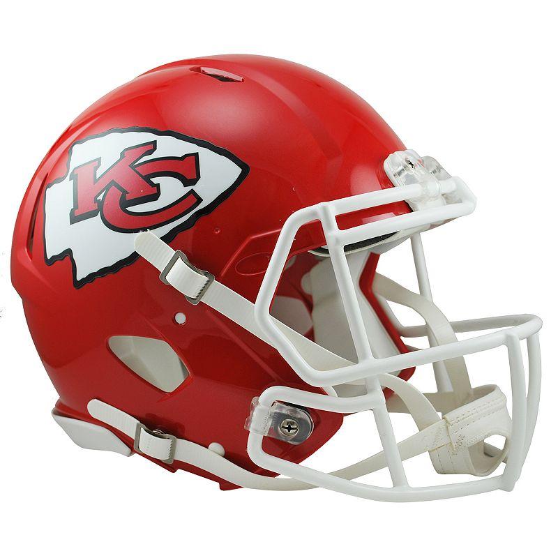 Riddell Kansas City Chiefs Revolution Speed Authentic Helmet