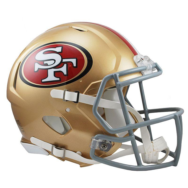 Riddell San Francisco 49ers Revolution Speed Authentic Helmet