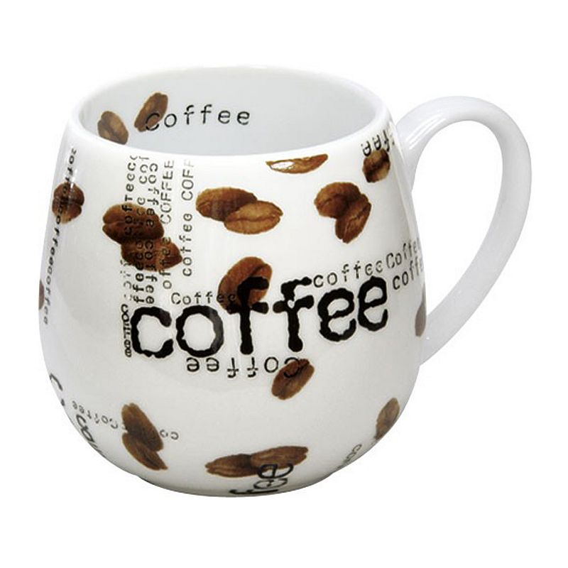 Konitz Snuggle Mugs Coffee Collage 2-pc. Mug Set