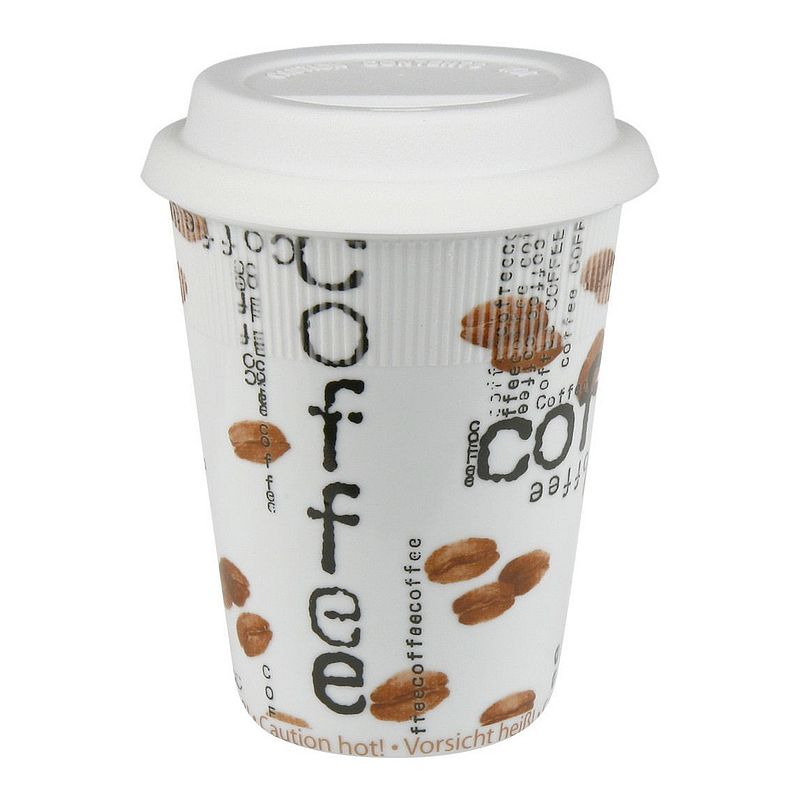 Konitz Coffee Collage 2-pc. Travel Mug Set