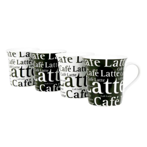 Konitz Cafe Latte 4-pc. Mug Set