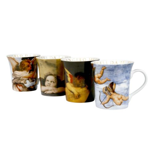 Konitz 4-pc. Angel Mug Set