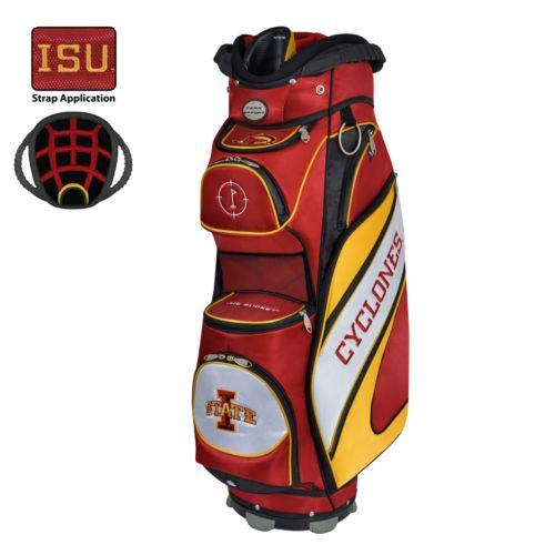 Team Effort Iowa State Cyclones Bucket Cooler Cart Golf Bag