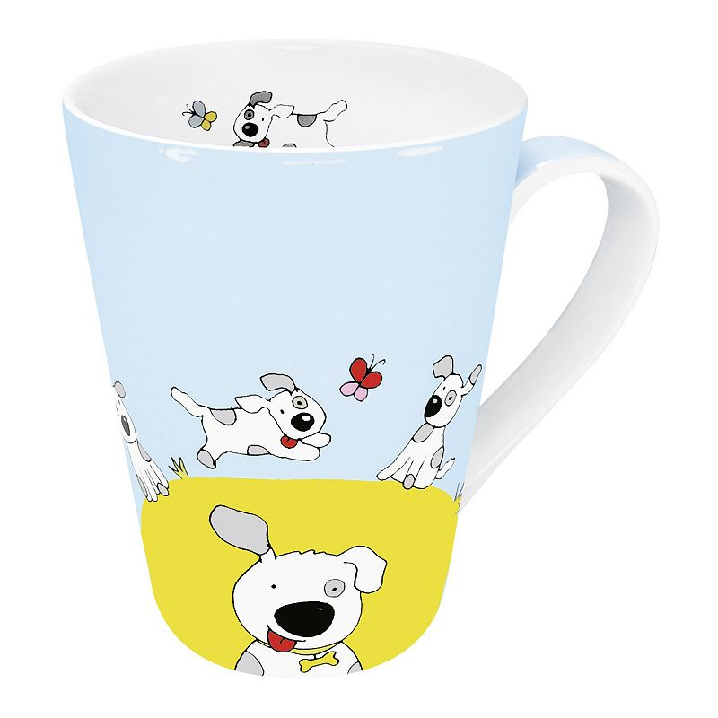 Konitz Globetrotter Dog 4-pc. Mug Set