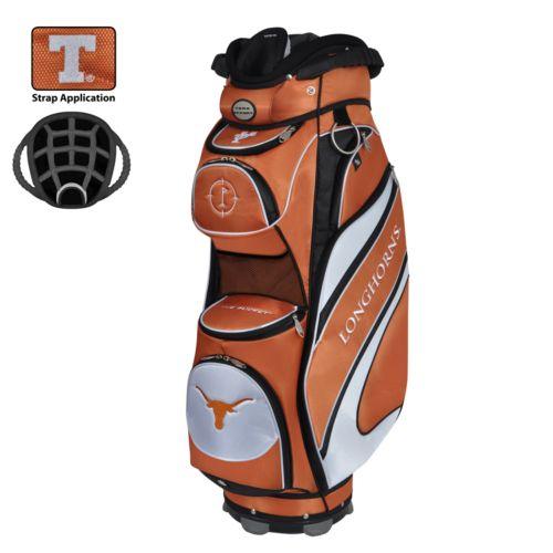 Team Effort Texas Longhorns Bucket Cooler Cart Golf Bag