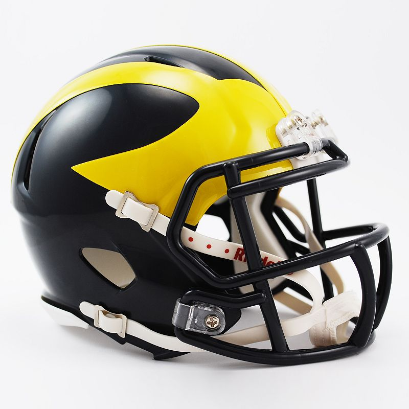 Riddell Michigan Wolverines Revolution Speed Mini Replica Helmet