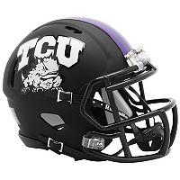 Riddell TCU Horned Frogs Revolution Speed Mini Replica Helmet