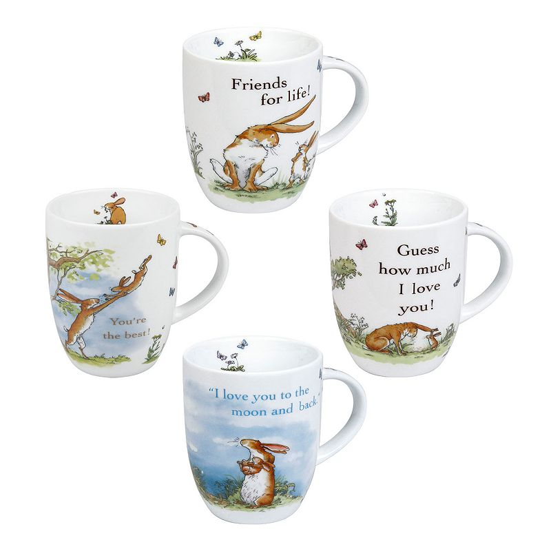 Konitz Guess How Much I Love You 4-pc. Assorted Mug Set