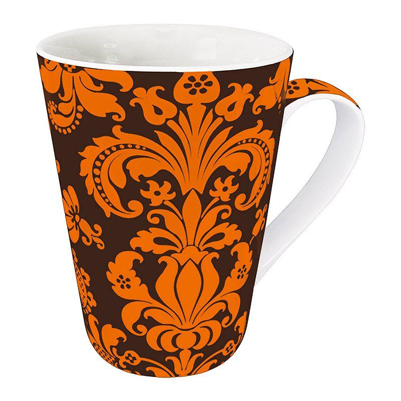 Konitz Orange Rocaille 4-pc. Mug Set