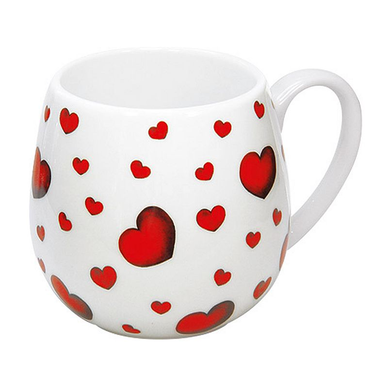 Konitz Snuggle Mugs 4-pc. Little Hearts Mug Set