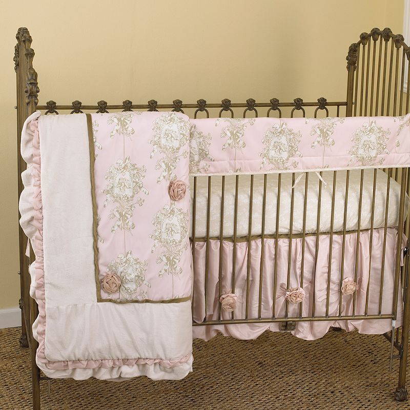 Cotton Tale 4-pc. Lollipops and Roses Crib Set