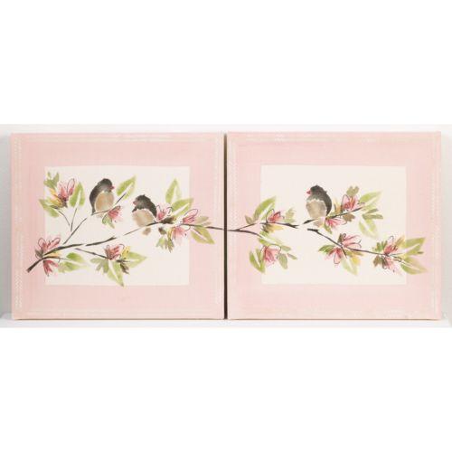 Cotton Tale 2-pc. Nightingale Wall Art Set