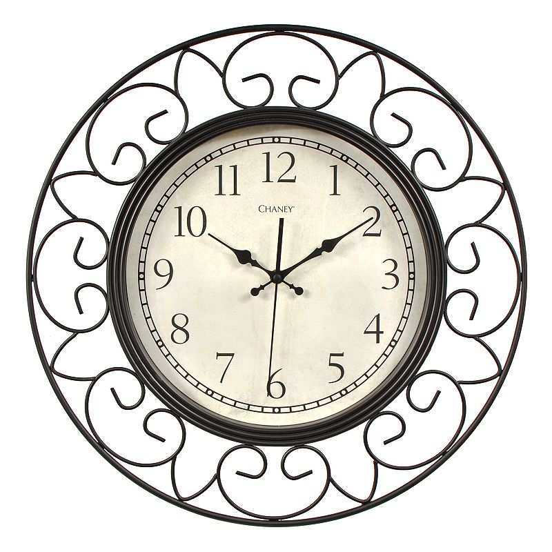 Chaney Wire Wall Clock