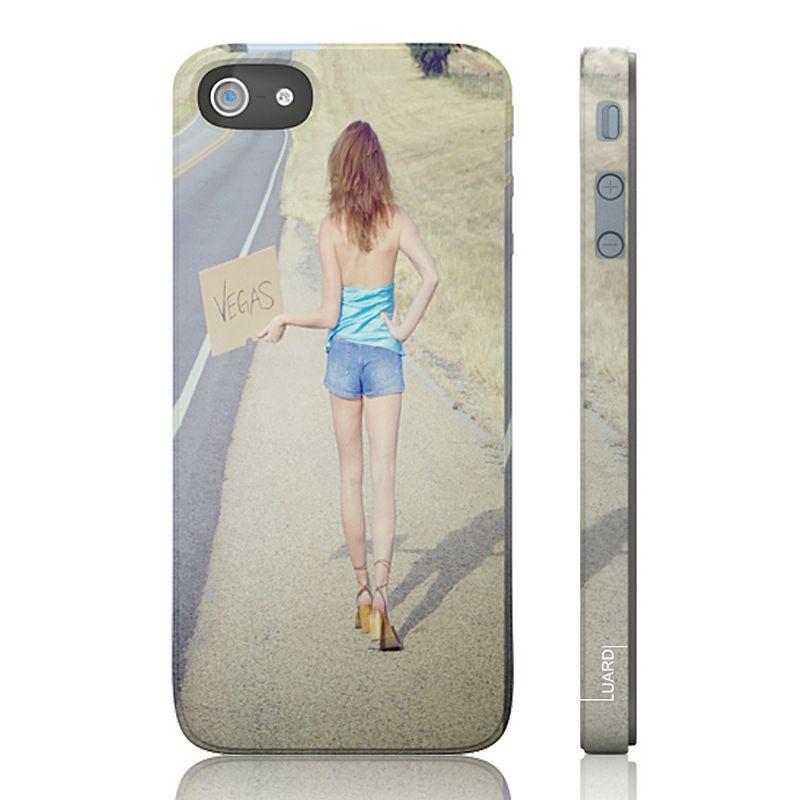 Luardi Vegas Hitchhiker Snap-On iPhone 5 Cell Phone Case