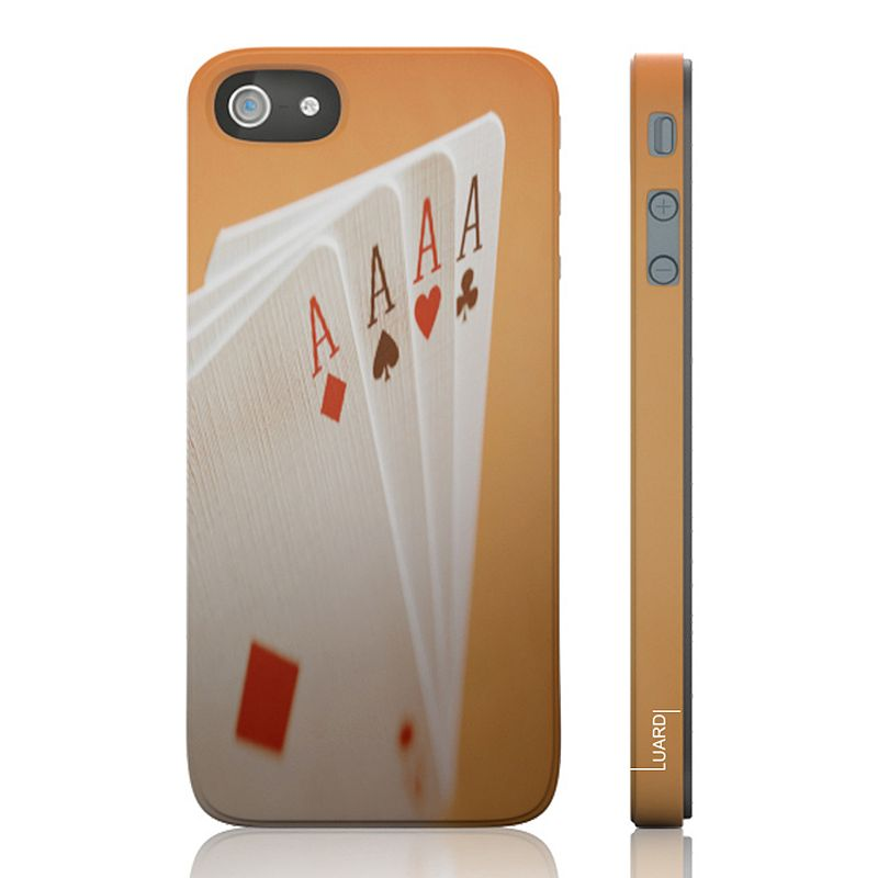 Luardi Four Aces Snap-On iPhone 5 Cell Phone Case