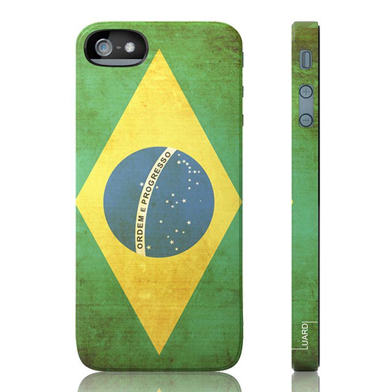 Luardi Brazil Snap-On iPhone 5 Cell Phone Case