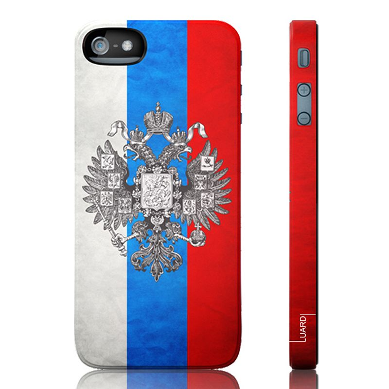 Luardi Russia Snap-On iPhone 5 Cell Phone Case