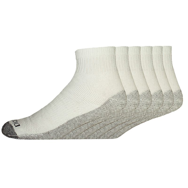 Men's Dickies 6-pk. Dri-Tech Comfort Moisture-Control Quarter Crew Socks