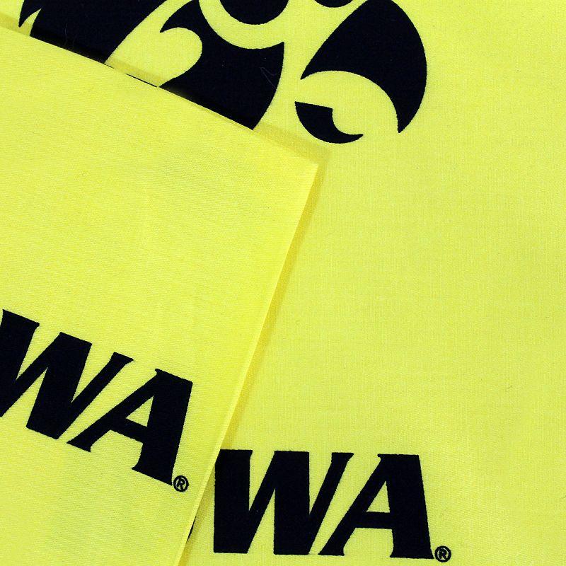 Iowa Hawkeyes Printed Sheet Set - King