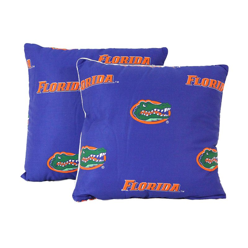 Florida Gators Decorative Pillow Set