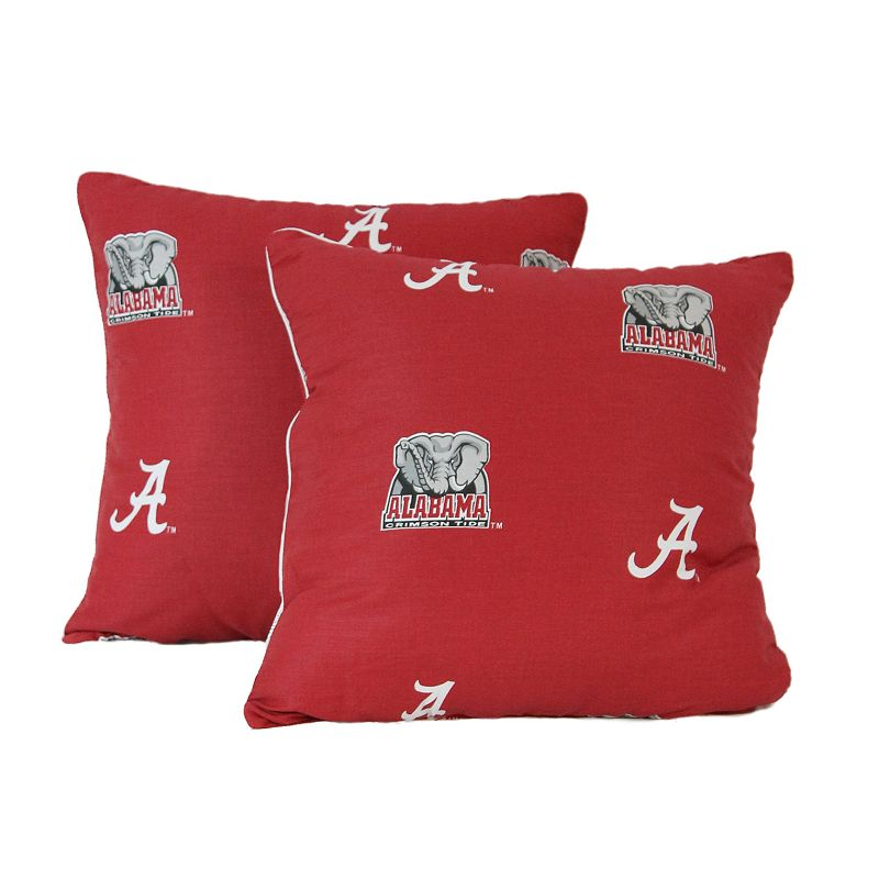 Alabama Crimson Tide Decorative Pillow Set