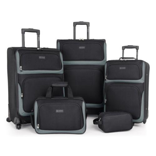 Chaps Luggage, Alvaston 5-pc. Luggage Set