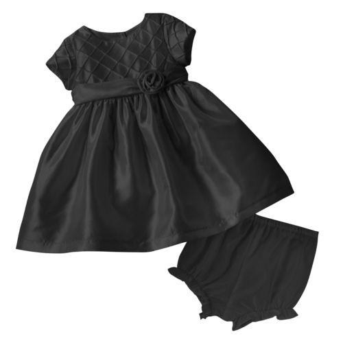 Marmellata Classics Diamond Pintuck Dress - Baby