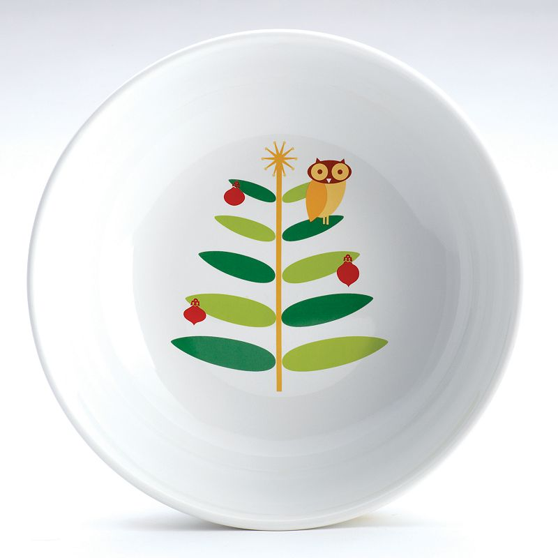Rachael Ray Holiday Hoot 10-in. Serving Bowl