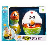 Earlyears Chicken & Egg Stackers Set