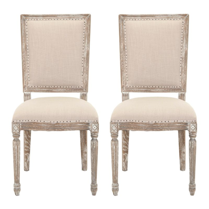 Linen Dining Room Chair