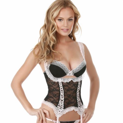 Jezebel Dolled Up Lace Waist Cincher - Women's