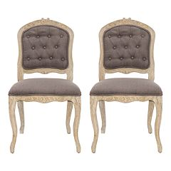 Safavieh 2-pc. Carrisa Side Chair Set by
