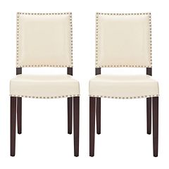 Safavieh 2-pc. James Cream Side Chair Set by
