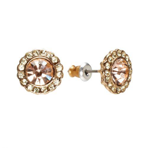 LC Lauren Conrad Button Stud Earrings