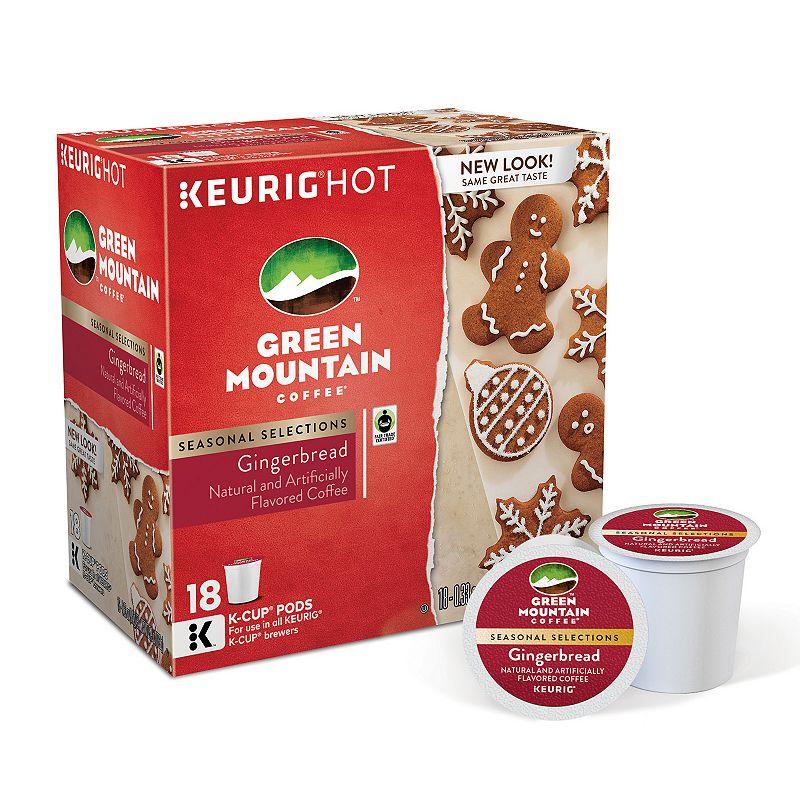 Keurig® K-Cup® Pod Green Mountain Coffee Gingerbread Coffee - 18-pk.