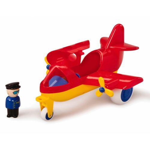 Viking Toys Red Yellow Jumbo Jet